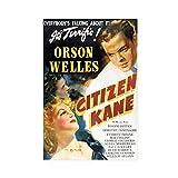 Art Deco Movie Retro Poster Citizen Kane Leinwand Poster