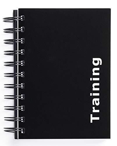 Diario de entrenamiento para entrenamiento de fuerza (con 180páginas), negro