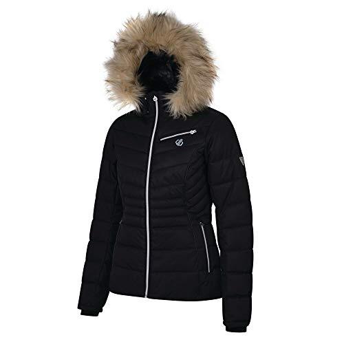 Dare 2b Glamorize Damen Skijacke / Snowboardjacke, wasserdicht und atmungsaktiv, isoliert, High Loft 40 Schwarz (Black)