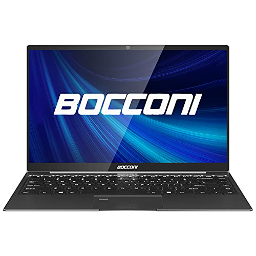 BOCCONI 14.1 Inch Windows 10 Ultra-Thin Laptops for Sale 8GB RAM 256GB SSD Intel Pentium N5000 Quad Core Full HD 1920x1080 IPS Notebook with Backlit Keyboard Traditional Laptop Computers
