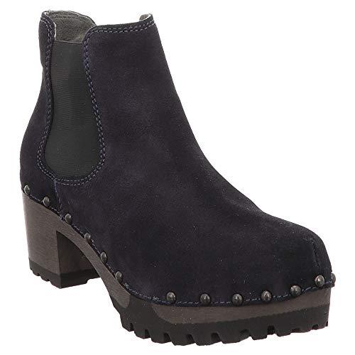 Softclox S3358 Isabelle - Damen Schuhe Stiefeletten - dark-ocean-18, Größe:40 EU