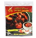 Pasta de curry instantánea AAA (Sambal Tumis) 180 g – Auténtica instantánea Sambal Tumis Curry Pasta