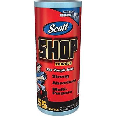 Scott 75130-12PK Shop Towels, 55 Towels - Pack of 12