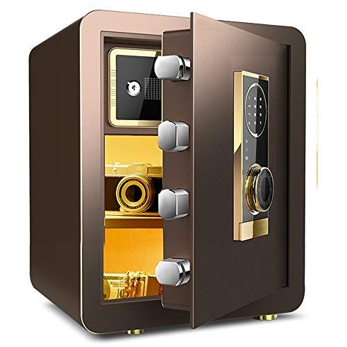 Caja de Seguridad - Hogares de acero seguro con Virtual contraseña Triple dispositivo de alarma se puede colocar en la pared o un armario en la primera opción for familias y Hoteles 17.7x15x12.2 pulga