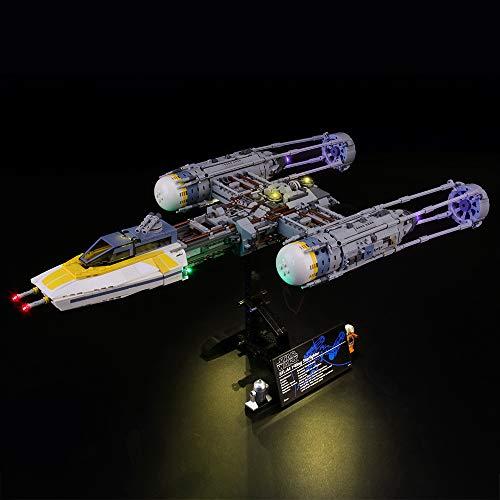 LIGHTAILING Licht-Set Für (Star Wars Y-Wing Starfighter) Modell - LED Licht-Set Kompatibel Mit Lego 75181(Modell Nicht Enthalten)