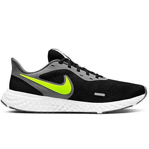 Nike Schuhe Revolution 5 Code BQ3204-013, Schwarz - Nero Grigio - Größe: 44 EU