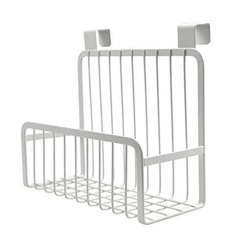 Chstarina Küchenregal zum Aufhängen, kichenschrank organizer an Schublade oder Schranktür, Einhängekorb Küchenregal für Badezimmer Küche Schranktür zur Aufbewahrung