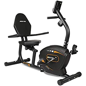JEEKEE Recumbent Exercise Bike for Adults Seniors – Indoor Magnetic Cycling Fitness Equipment for Home Workout