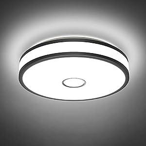 Onforu 18W Ceiling Lights, Daylight White, Warm White.