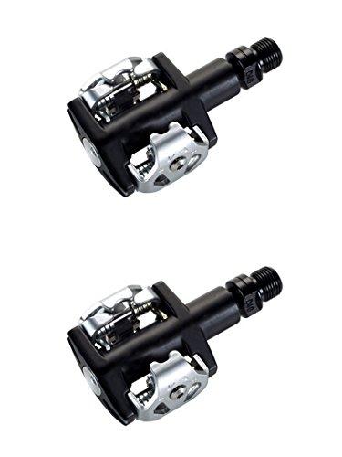 Pedales Automaticos SPD VP M32 compatible con Shimano Eje CNC + Plataformas para Bicicleta 3054