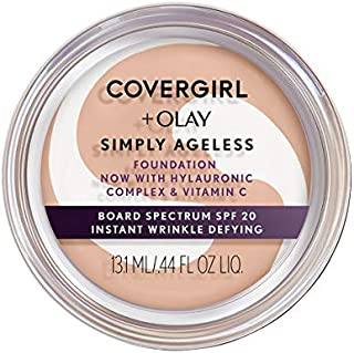Sponsored Ad - COVERGIRL & Olay Simply Ageless Instant Wrinkle-Defying Foundation, Creamy Beige