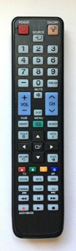 USBRMT New Samsung Replacement Remote AA59-00443A with Back Light for Samsung LCD LED Smart TV