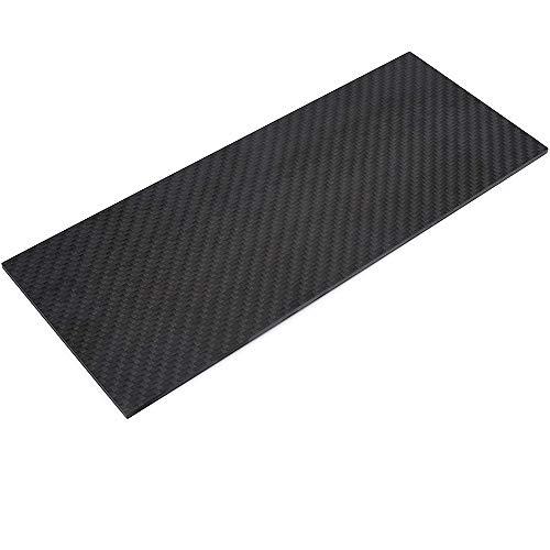 LOKIH 3K Kohlefaserplatte (Matt Surface) Größe 1.5Mmx200mmx300mm (Köperbindung)