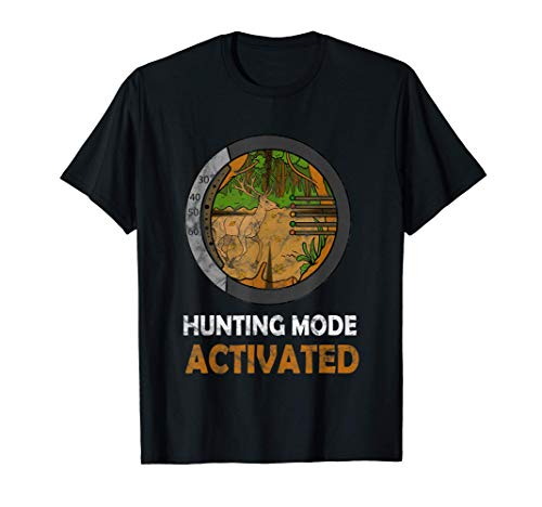 Bow Hunting Deer Compound Bow Sight Apparel for Archery T-Shirt