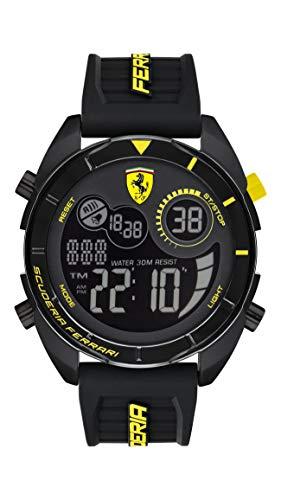 Scuderia Ferrari Reloj para de Cuarzo con Correa en Silicona 830744