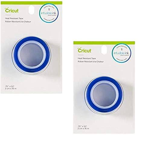 "CRICUT INC 2006951 Heat Resistant Tape .75"" x 52'"