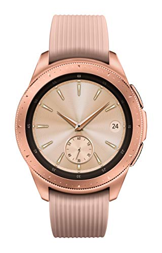 Samsung Galaxy Watch smartwatch (42mm, GPS, Bluetooth) – Rose Gold (US Version...