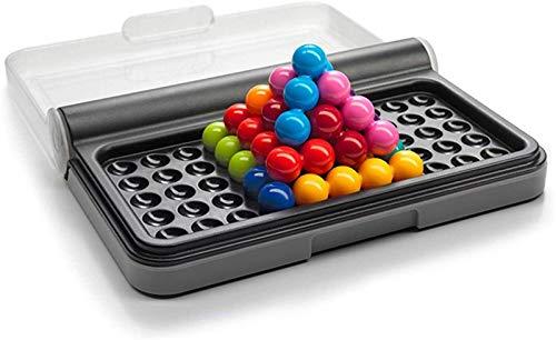 yvyuan IQ Puzzler, Brain Twisting 3D Puzzle Game for Kids, Smart Games Intelligence Challeng, con 120 sfide, cognitivo Skillbuilding Brain Game per età 6