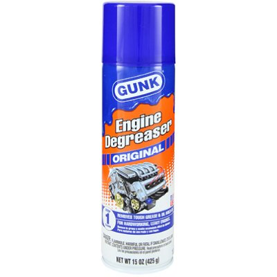 GUNK Engine Degreaser Original, 15 oz. Aerosol - Lot of 12