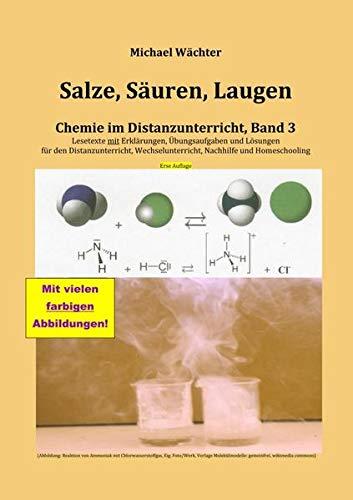 Chemie im Distanzunterricht / Salze Säuren Laugen: Chemie im Distanzunterricht, Band 3