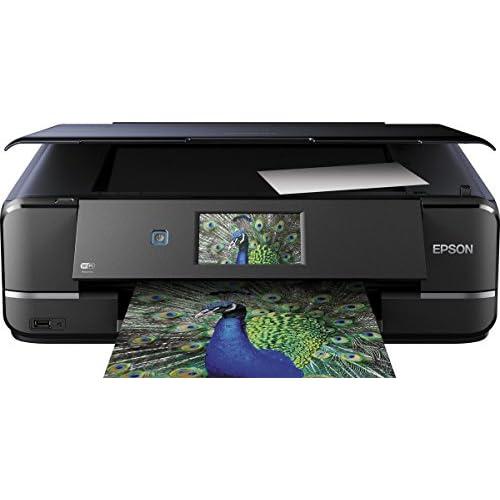 Epson Expression Photo XP 960 Stampante Multifunzione con Amazon Dash Replenishment Ready, Inchiostri Claria Photo HD, Nero