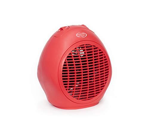 Argo Scilla Red Termoventilatore Tradizionale, Rosso