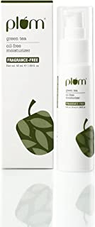 Plum Green Tea Oil Free Moisturizer for Daily Use | 100% Fragrance Free | Enriched with Squalane, Niacinamide & Hyaluronic...