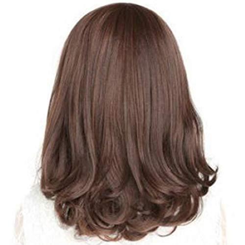 qhtongliuhewu 1 Stück Fashion Cosplay Kostüm Full Perücke Hitzebeständig lang gelockt Haar für Frauen