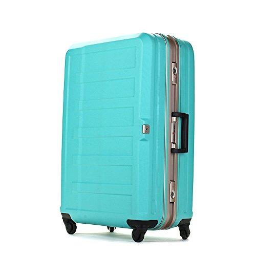 [レジェンドウォーカー] スーツケース フレーム ハードスーツケース 4輪 消音/静音キャスター 5088-55 保証付 47L 61 cm 4.1kg グリーン