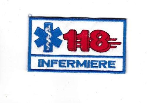 Patch 118Enfermero 9x 5cm parche bordado bordado–429