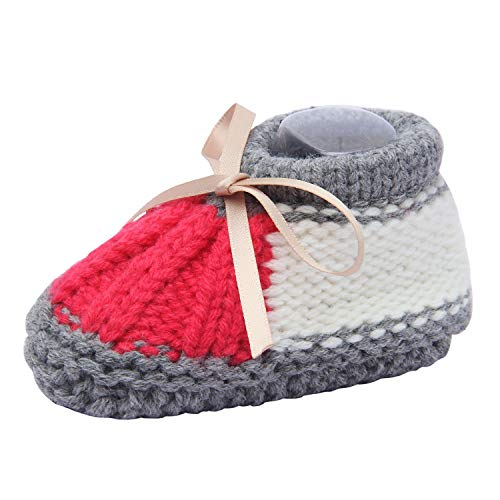 Buy Hand Knitted Baby Girl Shoes