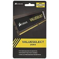 Corsair CMV16GX4M1A2133C15 Value Select Series 16GB (1x16GB) DDR4 2133MHz (PC4-17000) CL15 DIMM