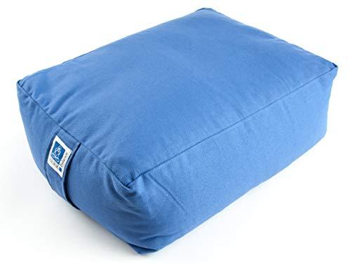 Berk YO-32-BB Meditations-Zubehör - Quader Meditationskissen, blau