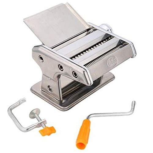 QinWenYan Pasta Maker Cutter Blade 2 gemaakt verse pasta of pasta dumpling krukas staal Rolling Machine handmatig Pasta noedels voor het maken van verse Lasagna