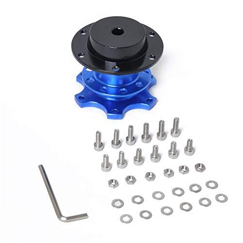 Noradtjcca Universal-Lenkrad-schnelle Freigabe-Naben-Boss Kit Radnaben Adapter für 6-Loch Lenkradnabe Autozubehör