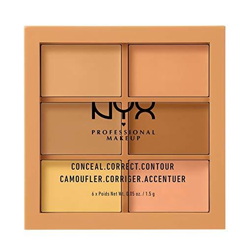 NYX Professional Makeup Conceal Correct Contour Palette Medium, 21 g