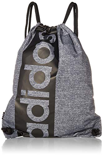 adidas Court Lite - Mochila unisex, color Jersey Onix/ Negro, tamaño talla única
