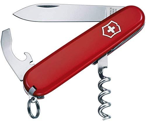 Victorinox Taschenmesser Waiter (9 Funktionen, Korkenzieher, Kombi-Klinge) rot