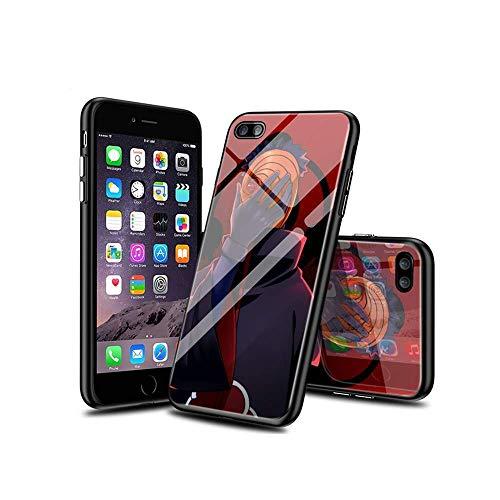 SviXXaYN iPhone 7 Cover e iPhone 8 Cover, in Vetro temperato con Retro + Morbido Silicone TPU Antiurto Antiurto Compatibile per iPhone 7 / iPhone 8#009(A)
