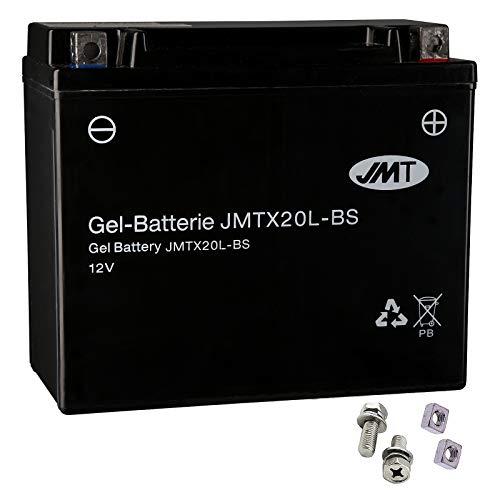 Batería de gel YTX20L-BS para XLH 883 Sportster, año de construcción 1997-2003 de JMT.