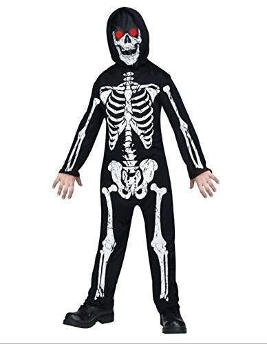 PARTY FIESTA Disfraz Esqueleto Con Luz(8-10)