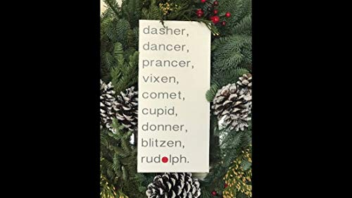 Ced454sy Rendier kerst teken rudolph santas slee boerenhoise teken