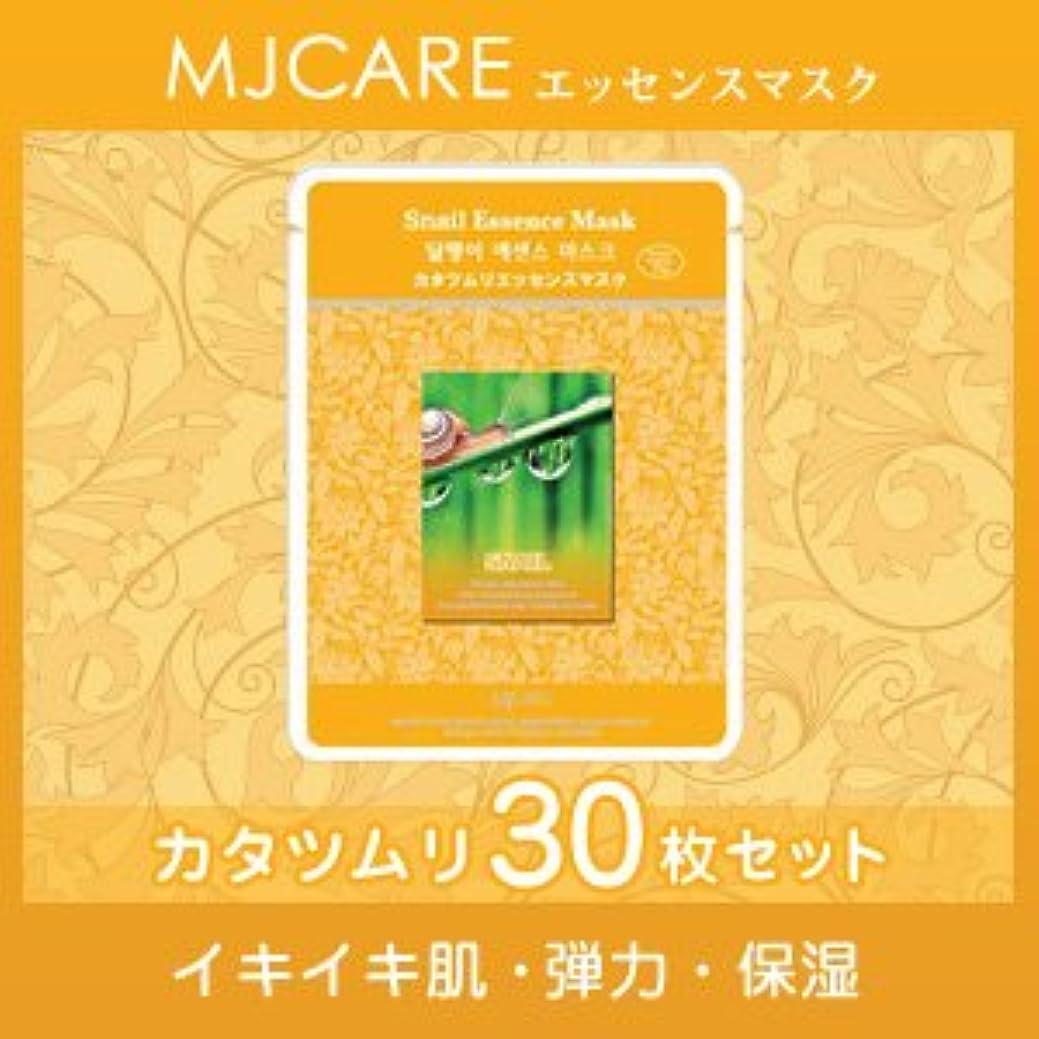 繁栄悪の不信MJCARE (エムジェイケア) かたつむり エッセンスマスク 30セット