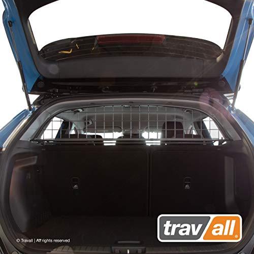 Travall Guard Hundegitter Kompatibel Mit Hyundai Kona (2017-2020) TDG1594 - Maßgeschneidertes Trenngitter in Original Qualität