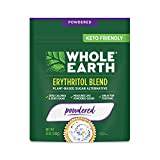 Whole Earth Powdered Sugar Replacement, Powdered Erythritol Plant-Based Sugar Alternative, 12 ounces