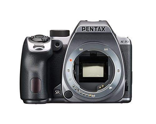 Great Price! Pentax K-70 Weather-Sealed DSLR Camera, Body Only (Silver)