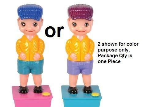 Rhode Island Novelty 7.5 Inch Squirt Wee Boy, One per Order, Color May Vary