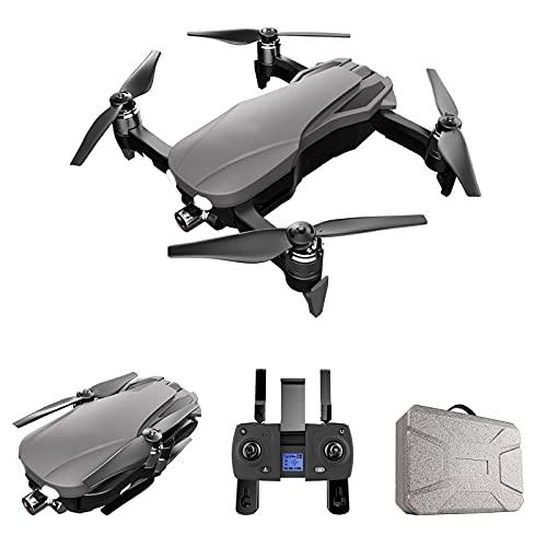 GZTYLQQ Droni GPS Pieghevoli con Fotocamera 4K per Adulti, quadricottero con Gimbal Anti-Vibrazione a 2 Assi, Video Live FPV 5G WiFi, seguimi, Custodia per Il Trasporto