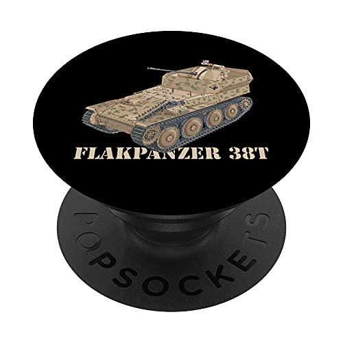 Diagrama del Flakpanzer 38 t del ejército alemán de la PopSockets PopGrip Intercambiable