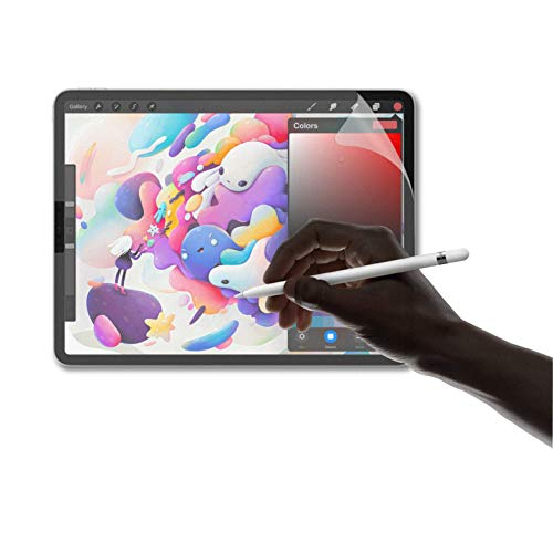 SwitchEasy Paperfeel iPad Pro 12.9 inch Screen Protector (2020 & 2018), Matte Paper Texture PET Film Protection, Anti-Glare, Scratch Resistant, High Sensitivity, Compatible with Apple Pencil